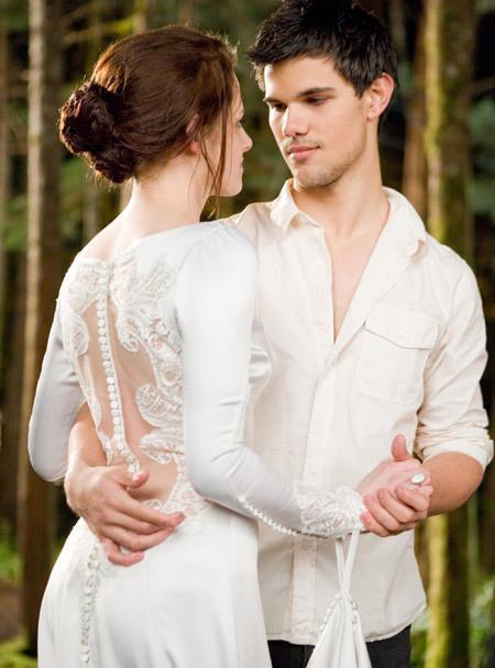 bella e jacob no casamento